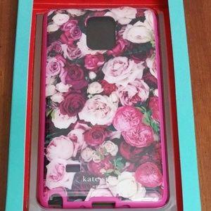 Kate spade Galaxy note 4 phone case